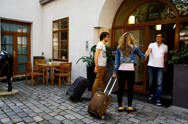 Die apartments und suiten im zentrum von prag prague for Royal boutique residence prague