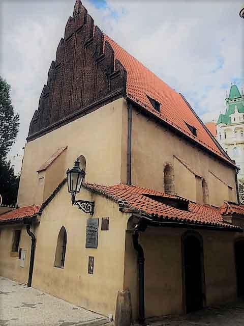 Exterior Old New Synagogue Prague