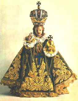 The Infant Jesus of Prague Statue