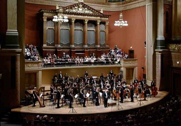 Czech Filharmonic Orchesetra in Prague Rudolfinum Concert Hall
