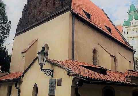 Exterior Old New Synagogue Prague