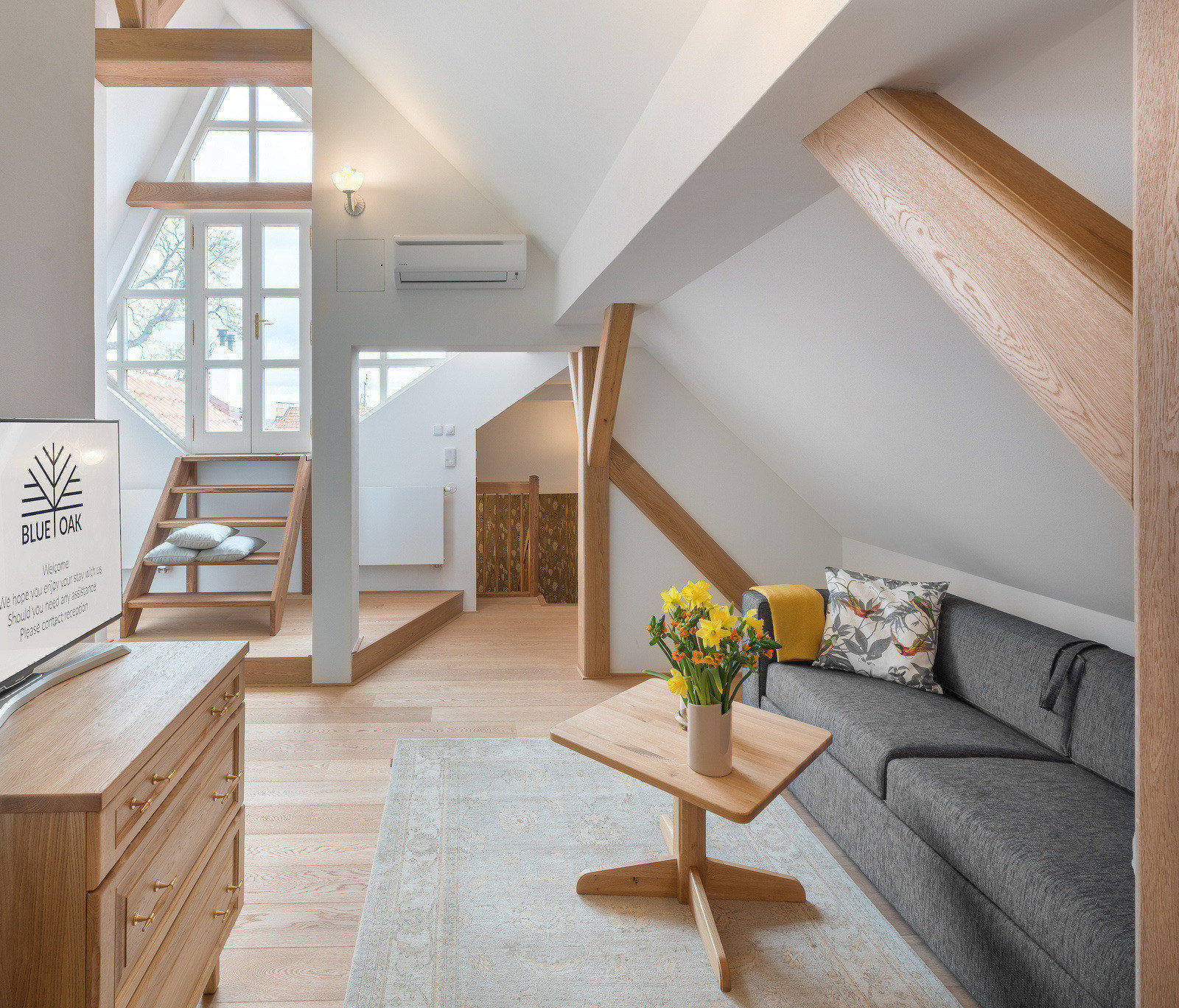Blue Oak Prague - Official Website | Prague Residence