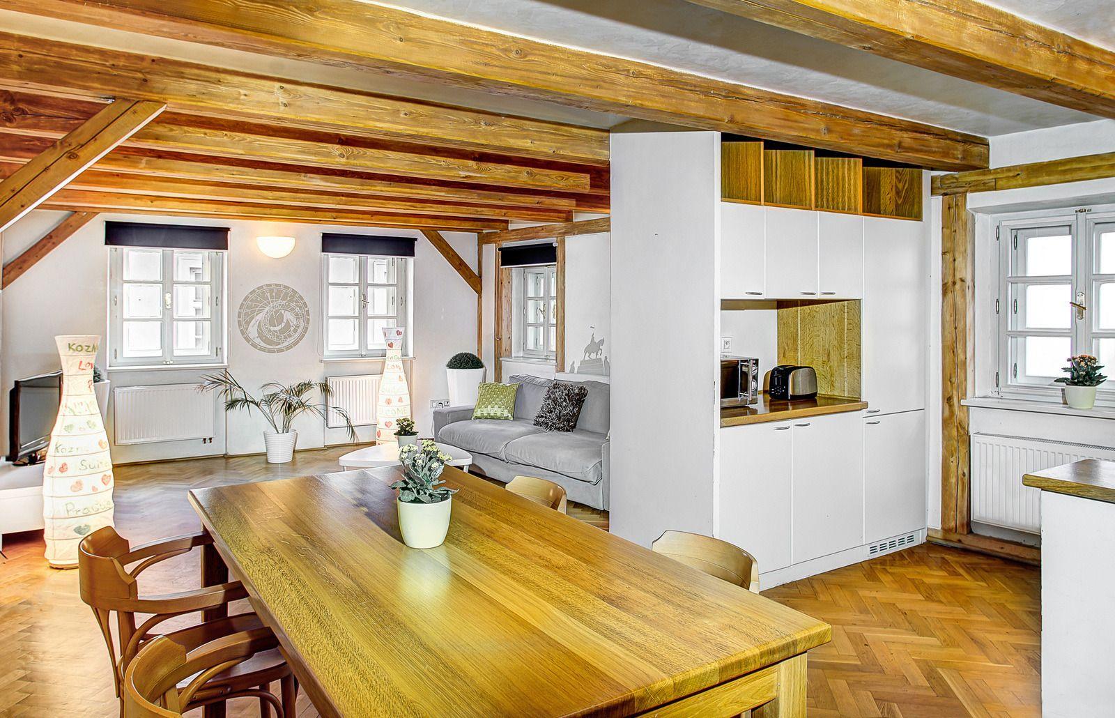 Duplex loft prague residence for Royal boutique residence prague