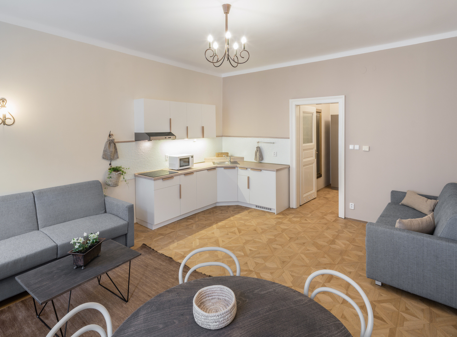 Six Continents One Bedroom Apartment North America Prague Residence